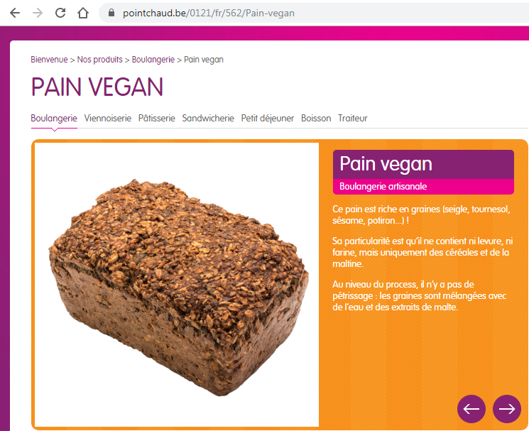 Pain vegan